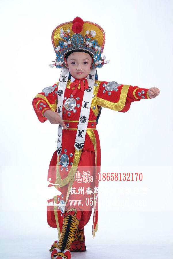 儿童花木兰演出服装